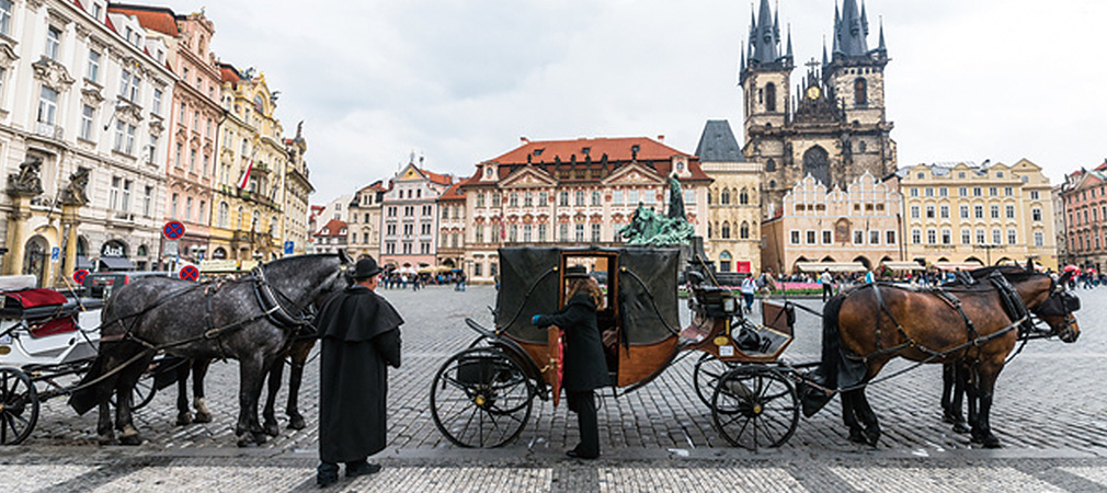 Old Town Square - the center of historical Prague